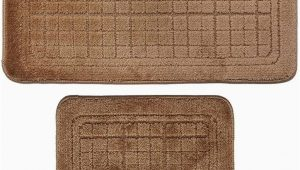 2 Piece Bathroom Rugs Amazon 2 Pcs Bathroom Rug Mat Set Polyester soft