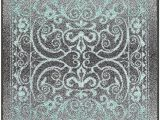 2 X 6 area Rugs Runner Rug Maples Rugs [made In Usa][pelham] 2 X 6 Non Slip Hallway Entry area Rug for Living Room Bedroom and Kitchen Grey Blue