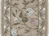 """20 X 34 area Rug Brumlow Mills butterfly Floral area Rug for Kitchen Living Room or Home Accent Carpet 20""""x34"""" Opal"""