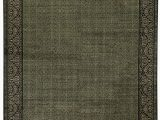 20 X 34 area Rug E Of A Kind Jahan Hand Knotted Green 12 X 15 Wool area Rug