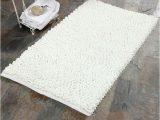 """24 X 24 Bath Rug Saffron Fabs Bubble 36"""" X 24"""" Non Skid Cotton and Microfiber"""