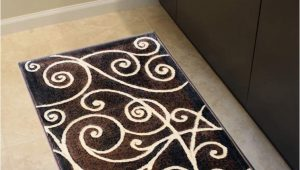 24 X 40 area Rug Gallery Modern Door Mat area Rug Design Gl 23 Chocolate 24 Inch X 40 Inch