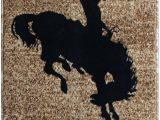 24 X 40 area Rug Masada Rugs Bucking Bronco Mat area Rug 24 Inch X 40 Inch Mat