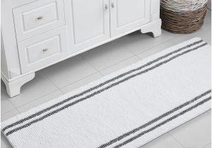 24 X 60 Bathroom Rug Vcny Home Stripe Noodle Bath Rug Collection & Reviews Bath