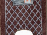 24 X 64 Bath Rug Amazon Luxurious 3 Piece Set Bathroom Rugs Brown