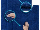 3 Pc Bath Rug Set 3 Pc Set Luxuriously Plush Microfiber Bathroom Rugs