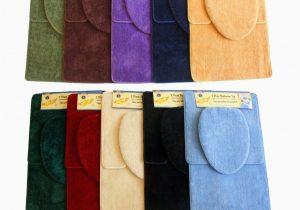 3 Piece area Rug Sets Sale Bathmats Rugs and toilet Covers Fayari 3 Piece