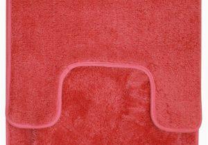 3 Piece Memory Foam Bath Rug Set Hailey 3 Piece Bathroom Rug Set Bath Mat Contour Rug toilet Seat Lid Cover orange
