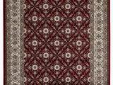 3 X 4 Bath Rug Lapis Rugs area Rug 3×4 Antique Vintage Collection oriental Low Pile Turkish Carpet Diamond 3 3 by 4 7 Cream Border Red Base Walmart Com