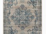 3 X 7 area Rugs Loewen Floral Shag 5 3 X 7 7 Blue area Rug