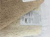 30 X 48 Bathroom Rugs Wamsutta Reversible 21 Inch X 34 Inch Bath Rug In Vanilla