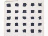 36 Square Bath Rug Loop Grid Bath Mat 24 X 36