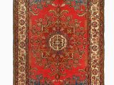 "36 X 36 area Rug E Of A Kind Verge Hand Knotted Red 1 3"" X 3 6"" area Rug"