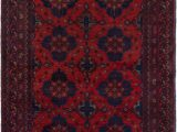 "36 X 48 area Rug E Of A Kind Kaler Hand Knotted 3 6"" X 4 8"" Wool Red area Rug"