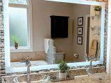 "36 X 48 Bathroom Rug Led Side Lighted Bathroom Vanity Mirror 48"" Wide X 36"" Tall Mercial Grade Rectangular Wall Mounted"