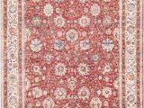 36 X 60 area Rug Surya Mahal Rose Burgundy Cream Polyester Mahal area Rug 60 X 36