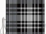 36 X 72 Bath Rug Amazon Com Daringone 36x 72 Shower Curtain Set Plaid soft