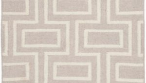 3ft X 5ft area Rug Dhurries Jeffrey Grey Ivory 3 Ft X 5 Ft area Rug