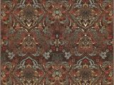"""3×5 area Rugs with Rubber Backing Well Woven Non Skid Slip Rubber Back Antibacterial 3×5 3 3"""" X 4 7"""" Traditional Persian Rug Brown Mutli Color Thin Low Pile Machine Washable Indoor"""