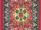 3×5 Non Skid area Rugs Adgo Collection Modern Live Red Traditional Design Rubber Backed Non Slip Non Skid 3×5 area Rugs Thin Low Profile Indoor Outdoor Floor Rug