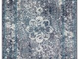 3×5 Non Skid area Rugs Vogelsang Non Skid Blue area Rug