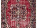"4 X 10 area Rug Turkish Vintage area Rug 6 4"" X 10 76 In X 120 In"