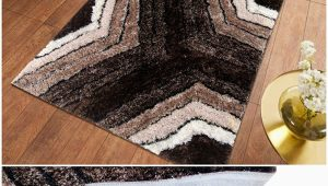 4 X 6 area Rugs with Rubber Backing Selective Premium Shaggy Living Room Carpet 4 X 6 Feet