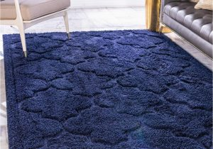 4 X 6 Navy Blue Rug Navy Blue 4 X 6 Lattice Shag Rug