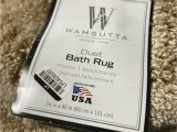 40 X 24 Bath Rug Wamsutta Duet 24 Inch X 40 Inch Bath Rug In Sand