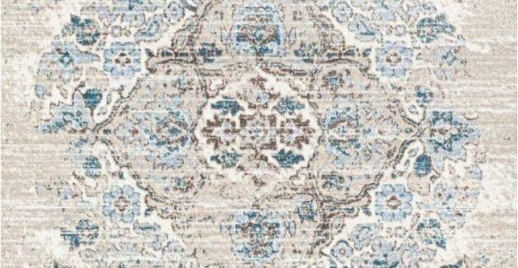 4620 Distressed Cream area Rug 4620 Distressed Cream 6 5×9 2 area Rug Carpet New