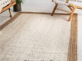 48 Inch Round area Rugs area Rug Fair Trade Braided Rag Rugs Indian Hand Woven Jute area Carpet 3 X 4 Ft