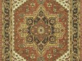 48 Inch Round area Rugs Loloi Maple Mp 48 Antique Rust area Rug Last Chance