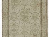 "48 X 48 area Rug Beige Turkish Vintage area Rug 4 X 6 10"" 48 In X 82 In"