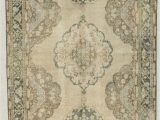 "48 X 48 area Rug E Of A Kind Bedelia Hand Knotted Runner 4 8"" X 14 Wool Ivory area Rug"