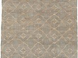 48 X 48 area Rug Surya Laural Medium Gray Khaki Cream Jute area Rug 72 X 48