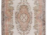 "48 X 48 area Rug Turkish Vintage area Rug 4 X 7 3"" 48 In X 87 In"