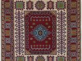 """48 X 66 area Rug E Of A Kind Belen Hand Knotted Dark Red 4 8"""" X 6 6"""" Wool area Rug"""