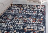 4×6 area Rugs Blue Morocco Navy Blue 4×6 area Rug In 2020
