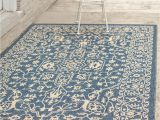 4×6 Blue Outdoor Rugs 4 X 6 Outdoor Botanical Rug