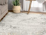 """5 7 area Rugs Under 50 Well Woven Alma Grey Abstract Vintage Floral Panel Design area Rug 5×7 5 3"""" X 7 3"""""""