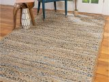 5 by 5 area Rugs Natural area Rugs Handmade Brooklyn Multicolor Cotton Jute Rug 5 X 8