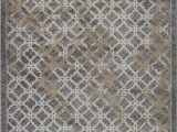 5 by 7 area Rugs at Lowes La Dole Rugs Modern area Rug 5 X 7 Grey