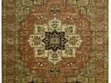 "5 by 9 area Rugs Nourison Jaipur Brick Rectangle area Rug 3 Feet 9 Inches by 5 Feet 9 Inches 3 9"" X 5 9"""