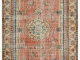 5 by 9 area Rugs Turkish Vintage area Rug 5 9 area