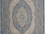 5 Ft X 7 Ft area Rug Courtyard Brooklyn Light Grey Blue 5 Ft 3 Inch X 7 Ft 7