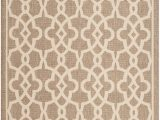 5 Ft X 7 Ft area Rug Courtyard Jane Mocha Beige 5 Ft 3 Inch X 7 Ft 7 Inch