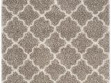 5 Ft X 7 Ft area Rug Hudson Shag Eliot Grey Ivory 5 Ft 1 Inch X 7 Ft 6 Inch