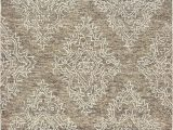 5 Ft X 7 Ft area Rug Lr Home Karma Floral Khaki 5 Ft X 7 Ft 9 In Indoor Tufted Wool area Rug Walmart