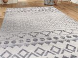5 X 7 area Rugs Under 100 Rugshop Havana Collection Traditional Distressed Bohemian soft area Rug 5 X 7 Cream
