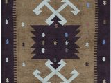 5 X 7 Black area Rug E Of A Kind Hand Knotted Black 5 X 7 Cotton area Rug